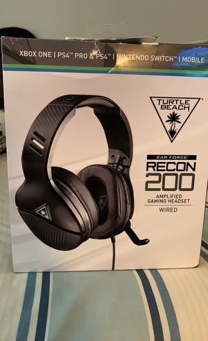 Turtle beach Recon 200 gaming headset for Sale in Orlando, FL