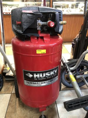 Husky Air compressor 20Gal for Sale in Copperton, UT