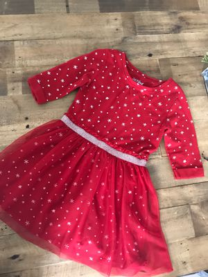 Cat & Jack Cotton Red Star Dress - XS 4-5 Size for Sale in Murrieta, CA