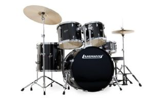 Ludwig LC1251 Drum Set (Black), Brand New, Still Wrapped. for Sale in Choctaw Beach, FL