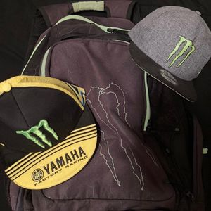 Backpack and Hats Monster for Sale in Hesperia, CA