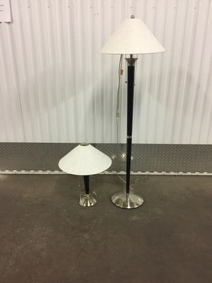 Pair of lamps for Sale in Hominy, OK