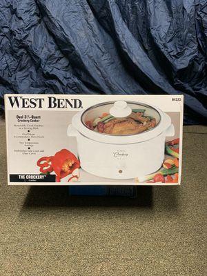 Westbend Crock Pot 3 1/2 Qt for Sale in Edison, NJ