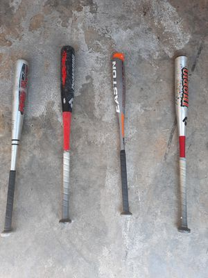 Used baseball bats, $30 each for Sale in Silver Spring, MD