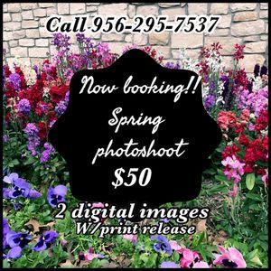 Spring photo shoot for Sale in Harlingen, TX