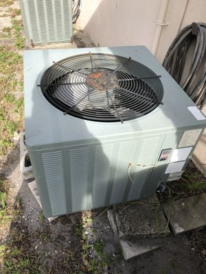 Good used Rheem 2 ton R410 outdoor AC condenser for Sale in Fort Lauderdale, FL