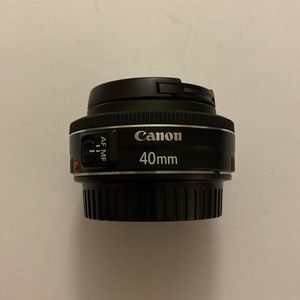 Canon EF 40mm f/2.8 STM Lens for Sale in Hialeah, FL