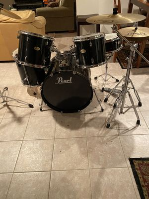 Pearl Drum Set for Sale in Watertown, CT