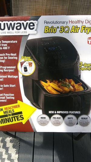 Nuwave brio 3q digital air fryer for Sale in Everett, WA