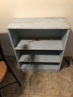 Cute blue chippy shelf for Sale in Yorkana, PA