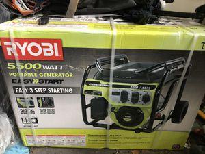 Ryobi 5500 watt Generator for Sale in Jacksonville, FL