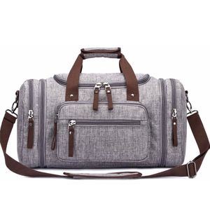 Brand new- Duffle Bag Travel Water-resistance (Grey) for Sale in Nashville, TN
