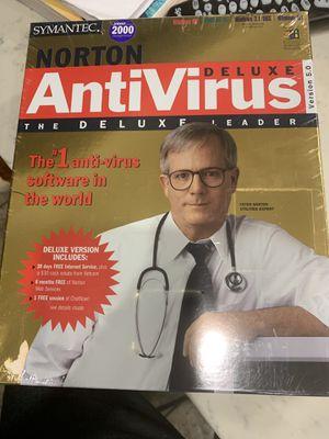 Symantec norton antivirus deluxe for Sale in Long Beach, CA