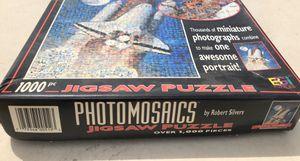 EUC Buffalo Games EUC Photomosaics Space Shuttle Jigsaw Puzzle 1000 Pc for Sale in Vernon Hills, IL