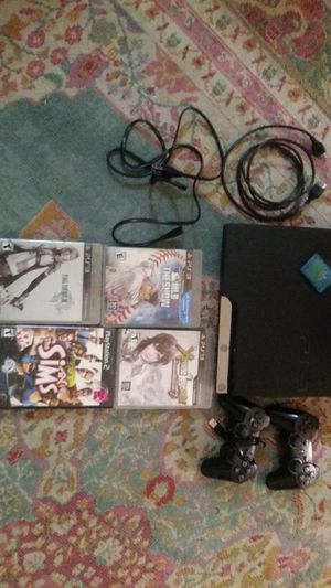 Ps3 console controllers games hookups memory pack for Sale in Columbus, OH