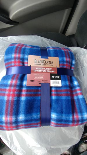 Black canyon fleece blanket/throw for Sale in Livonia, MI