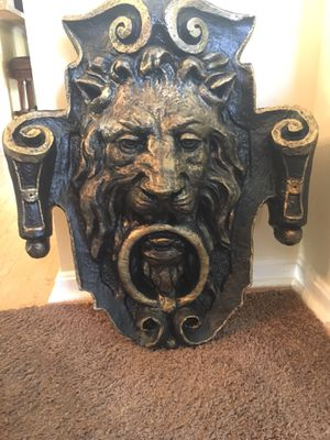 Heavy plaster wall decoration for Sale in LAKE OF WOODS, VA