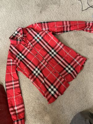 Burberry Button Up for Sale in Columbus, OH