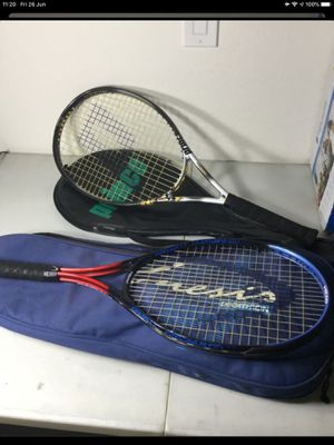 Tennis Rackets One Prince One Head for Sale in Tolleson, AZ