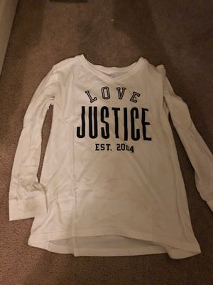 Justice long sleeve shirt for Sale in Frederick, MD