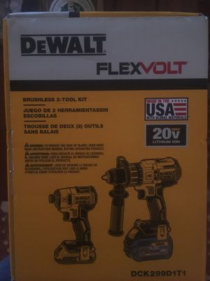 Dewalt cordless hammer drill & impact for Sale in Rockville Centre, NY