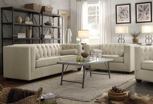 Beautiful Living Room Set ( Sofa + Love Seat ) (Only $54 Down) for Sale in Dallas, TX