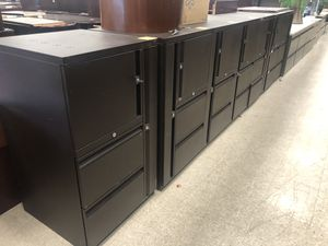 (7) Teknion Cabinet/filing cabinet commercial grade for Sale in Columbus, OH