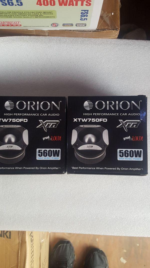 """Orion XTW-750FD 4.5"""" Pro Audio Horn Tweeters 560W (Pair)"""