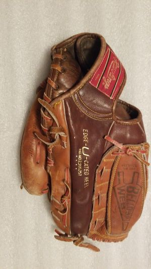 Vintage Rawlings GJ27 Joe Rudi Bellows Web Softball Size Glove Baseball for Sale in Mountain View, CA