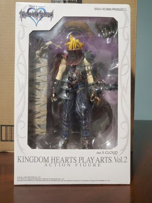 New 1/3 SQUARE ENIX KINGDOM HEARTS PLAY ARTS vol.2 Cloud (PVC painted action figure) for Sale in Tampa, FL