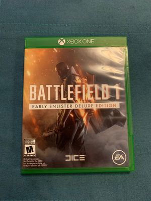 Battlefield 1 xbox one for Sale in Manassas, VA