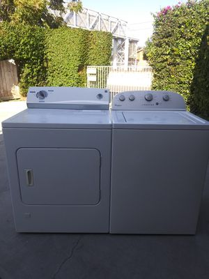 Semi new washer and gas dryer only two and a half years old set for Sale in Carson, CA