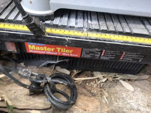 Master wet 7 saw for Sale in Pickerington, OH