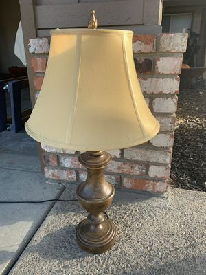 Lamp with shade for Sale in Turlock, CA