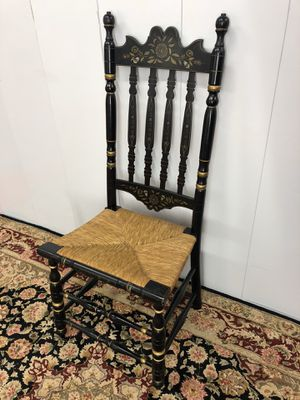 Antique Wood Carved Hitchcock Style Spindle Chair for Sale in Boynton Beach, FL