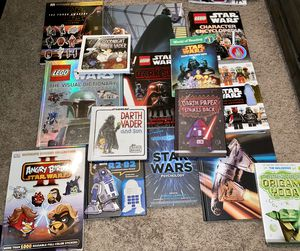 Lot of 15 Star Wars books for Sale in Murfreesboro, TN