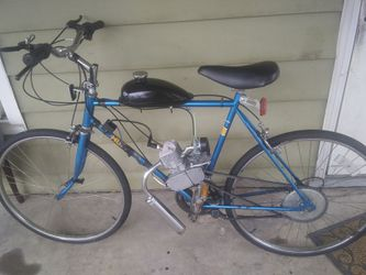 """Motorbike huffy 26"""" w new motor kit for Sale in Decatur,  IL"""