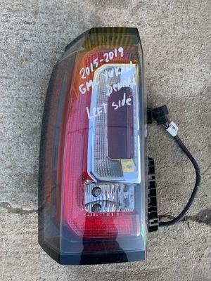 2015-2016-2017-2018-2019 GMC YUKON / YUCON DENALI TAIL LIGHT LEFT DRIVER SIDE OEM for Sale in Gardena, CA