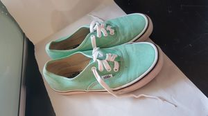 Vans green size 6.5 womens for Sale in Waldo, FL