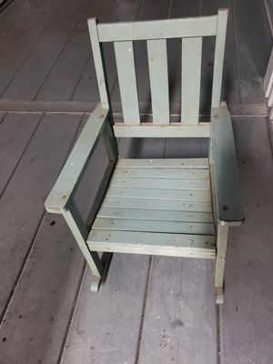 Antique childrens rocking chair for Sale in Cherry Hill, NJ
