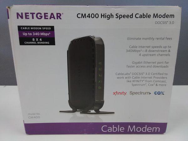 Netgear modem