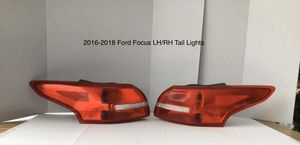 2016-2018 Ford Focus Driver and Passenger Side Tail Lights for Sale in Jurupa Valley, CA