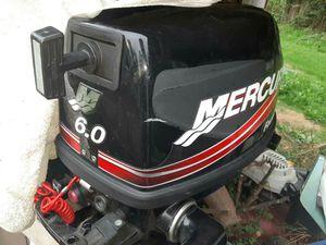 Mercury 6 hp, 4 stroke, long shaft trolling boat motor for Sale in Duvall, WA