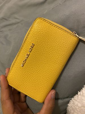 Small MK Yellow Wallet for Sale in Avondale, AZ