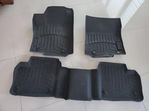 Mercedes Benz Black Molded Rubber Floor Mat 3 Piece Set Mercedes Benz ml350 (NEGOTIABLE )🚨🚨🚨 for Sale in Miami, FL