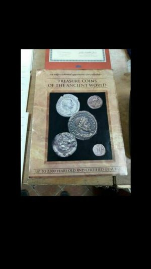 TREASURE COINS OF THE ANCIENT WORLD COLLECTION SET for Sale in Pompano Beach, FL