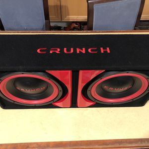 """2 12""""subwoofer Speakers With Amp for Sale in San Diego, CA"""