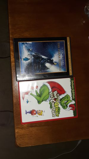 Polar Express, How the Grinch stole Christmas for Sale in Matthews, NC
