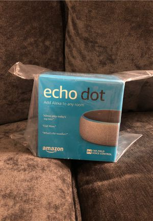 Amazon Echo Dot (3rd generation) smart speaker for Sale in Arlington, VA