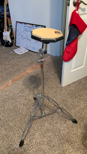 Practice drum stand and drum pad for Sale in Placentia, CA